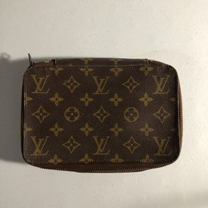 Louis Vuitton Monogram Vintage Travel Jewelry Case